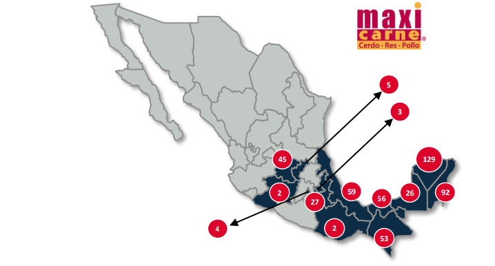 KUO ha expandido sus tiendas al centro y sur de México.