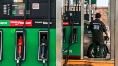 Mexico's gasoline imports fell 37.2% at an annual rate in the first half of 2020, to 5,344 million, according to data from the Bank of Mexico (Banxico).