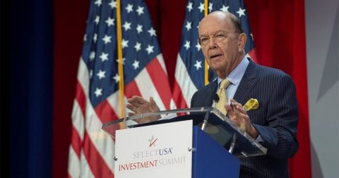 SelectUSA, a US government program, supports companies to relocate manufacturing to the United States, said Wilbur Ross, Secretary of Commerce.