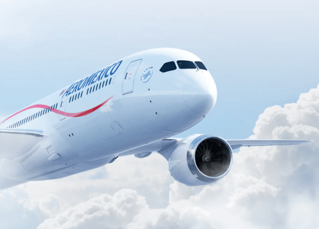 Aeroméxico and Interjet suffered the largest drops in regular service among the main national airlines, measured by the number of passengers transported during the first nine months of 2020.