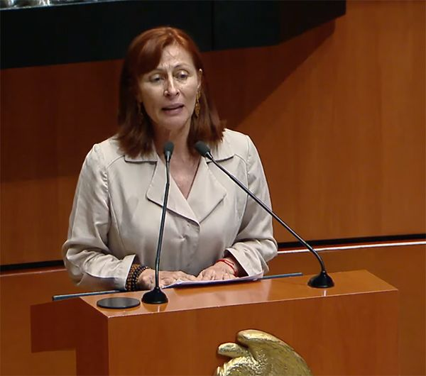 Tatiana Clouthier, Deputy Coordinator of Morena in the Chamber of Deputies, was proposed by President Andrés Manuel López Obrador to occupy the post of the Ministry of Economy.