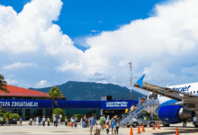 Grupo Aeroportuario del Centro Norte (OMA) reported this Wednesday that the number of total passengers (terminal passengers) transported in its 13 airports during the month of December 2020 decreased 41.5% compared to what was registered in the same period of 2019.