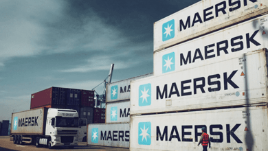 The shipping company Maersk reported this Wednesday that it registered a 44% growth in its Ebitda in 2020