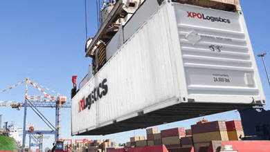 The company XPO Logistics reported a 2.4% year-on-year decrease in its revenue in 2020, to $ 16,252 million.