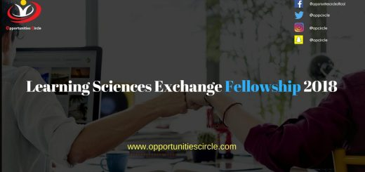 Learning Sciences Exchange Fellowship 2018 1 - Learning Sciences Exchange Fellowship 2018