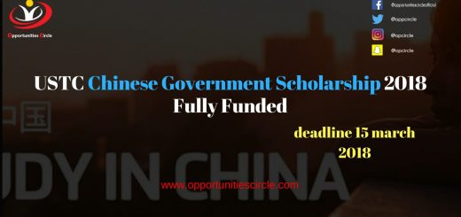USTC Chinese Government Scholarship 2018 Fully Funded