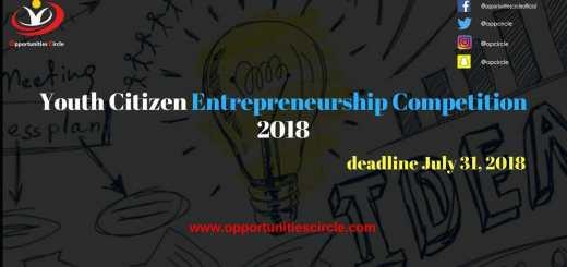 Youth Citizen Entrepreneurship Competition 2018