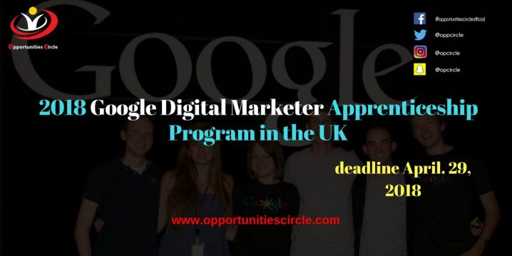 2018 Google Digital Marketer Apprenticeship Program in the UK 300x150 - 2018 Google Digital Marketer Apprenticeship Program in the UK