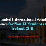 Fully Funded International Scholarship