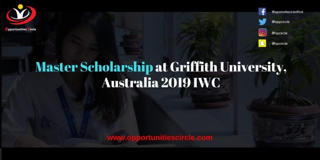 Master Scholarship at Griffith University Australia 2019 IWC 300x150 - Master Scholarship at Griffith University, Australia 2019 IWC