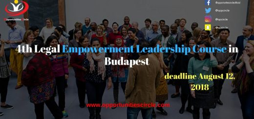 4th Legal Empowerment Leadership Course in Budapest