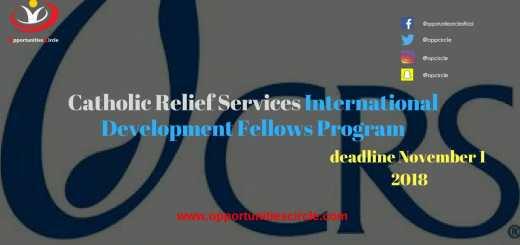 Catholic Relief Services International Development Fellows Program