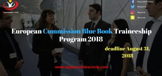 European Commission Blue Book Traineeship Program 2018