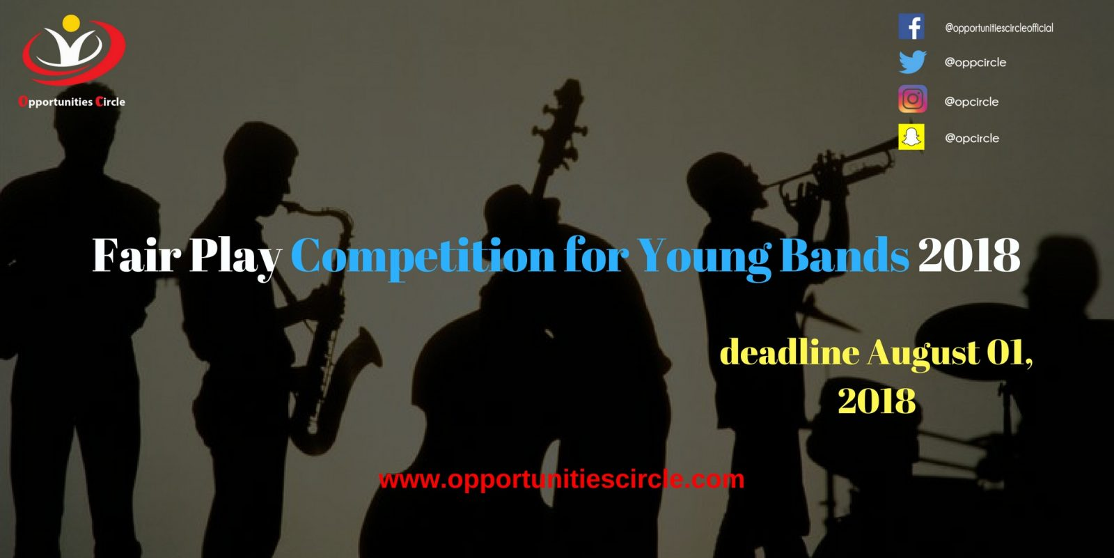 Fair Play Competition for Young Bands 2018 - Fair PlayCompetition for Young Bands 2018