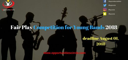 Fair PlayCompetition for Young Bands 2018