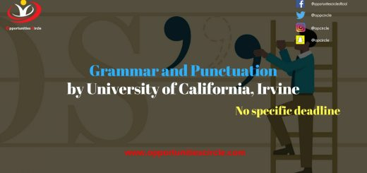 Grammar and Punctuation by University of California