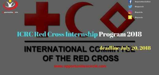 ICRC Red Cross Internship Program 2018