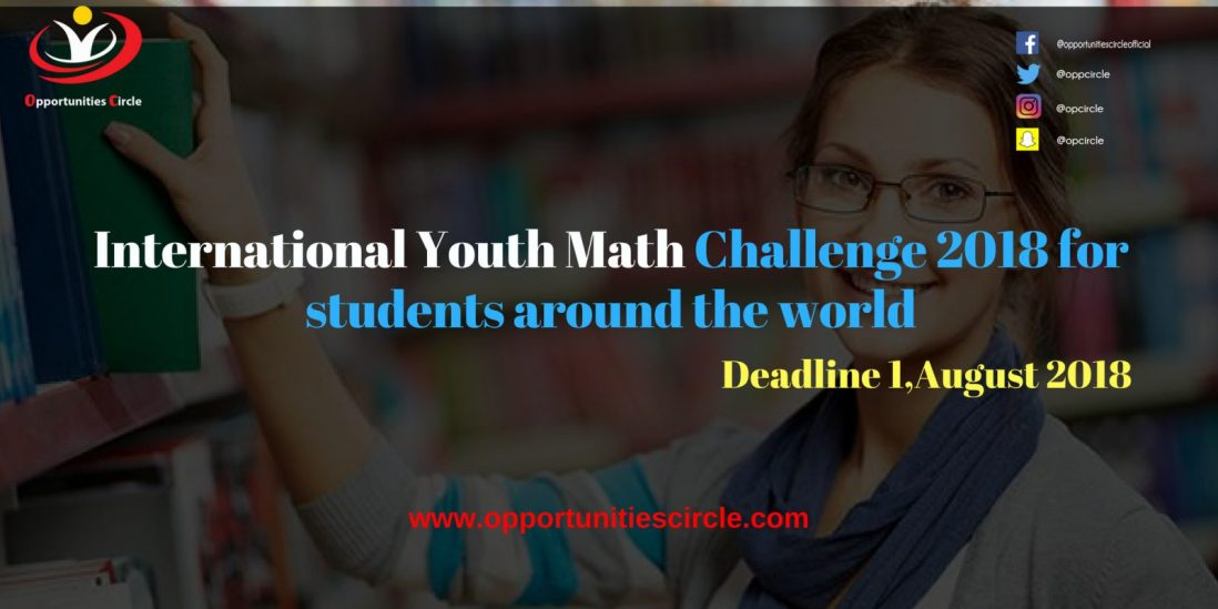 International Youth Math Challenge 2018 for students around the world 300x150 - International Youth Math Challenge 2018 for students around the world