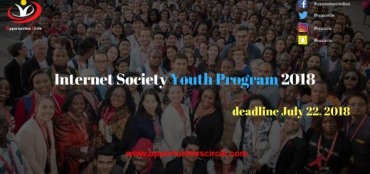 Internet Society Youth Program 2018