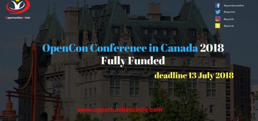 OpenCon Conference in Canada 2018