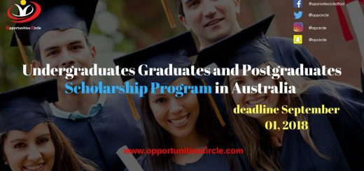Undergraduates Graduates and Postgraduates Scholarship Program in Australia