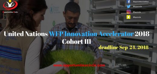 United Nations WFP Innovation Accelerator 2018