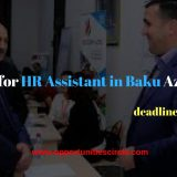 Vacancy for HR Assistant