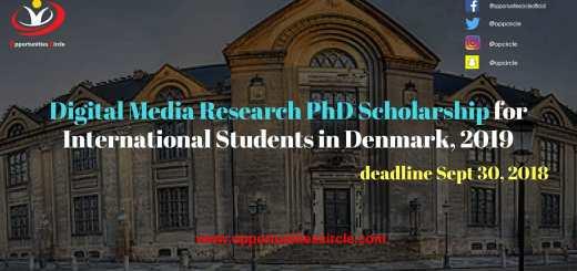 Digital Media Research PhD Scholarship