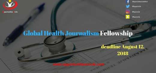 Global Health Journalism Fellowship