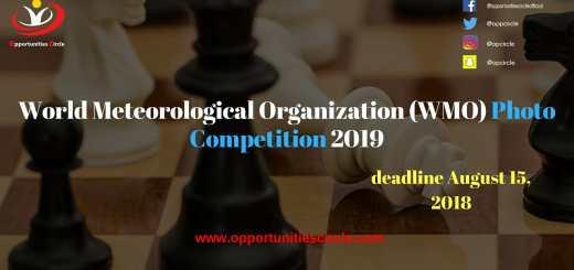 World Meteorological Organization (WMO) Photo Competition 2019
