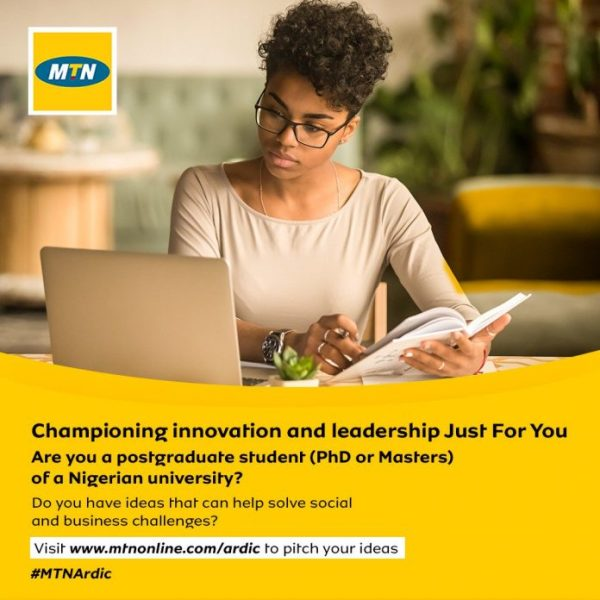 MTN Academic Research and Development Innovation Challenge 2019