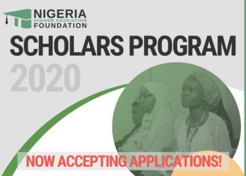 nhef scholars program 2020