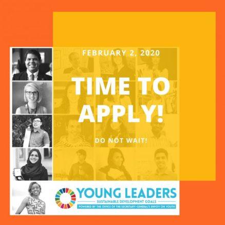 un young leaders sdg program 2020