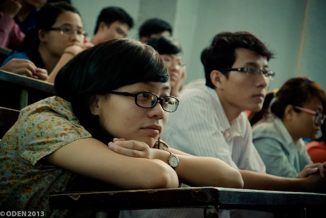 Students at universtiy MBA