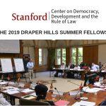 Draper HillsSummer Fellowship on Democracy and Development Program 2019 at Stanford University (Funding Available)