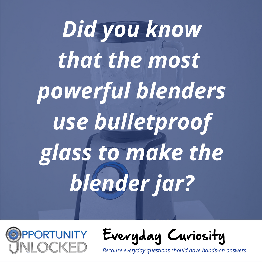 Everyday Curiosity: Blenders