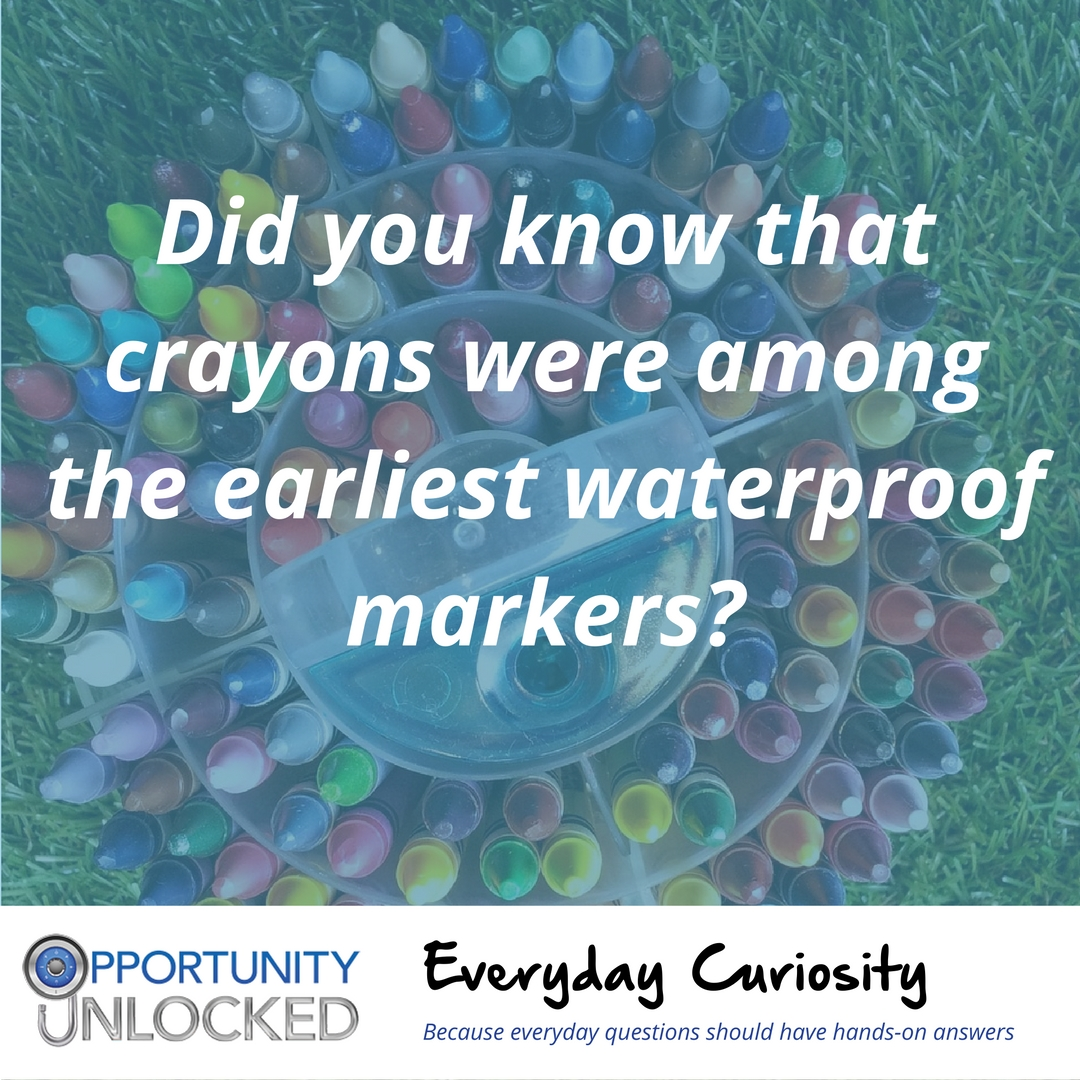 Everyday Curiosity: Crayons