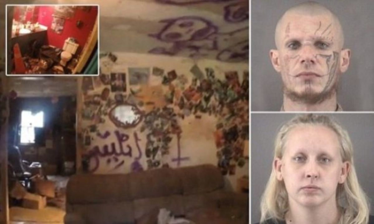 Satanists House Of Horrors Exposed Photos Opposing Views