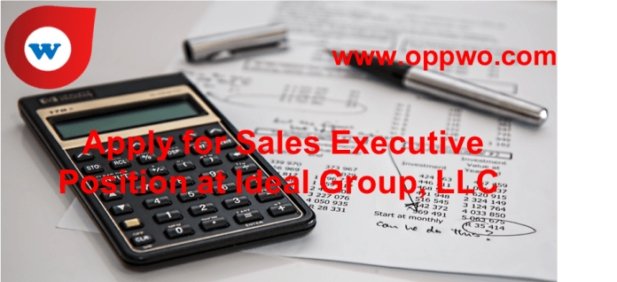 Apply-for-Sales-Executive-Position-at-Ideal-Group-LLC