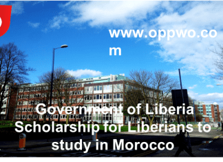 Government of Liberia Scholarships for Liberians to study in Morocco