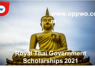 Royal Thai Government Scholarships 2021