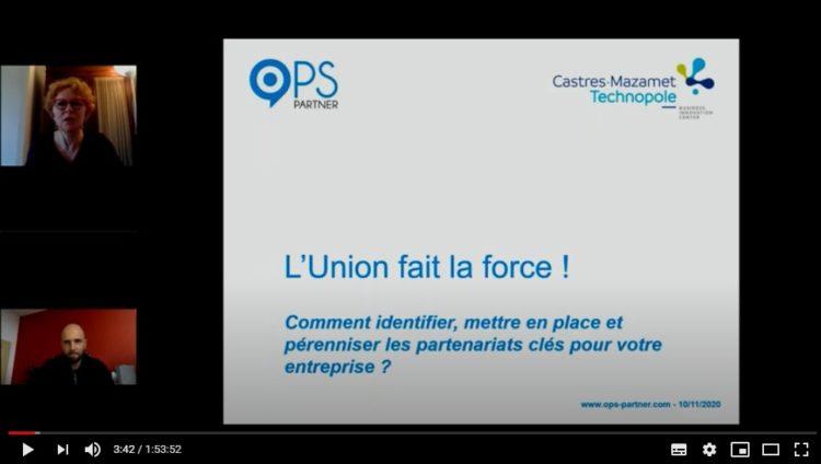Partenariats stratégiques - Atelier avec Castres-Mazamet Technopole