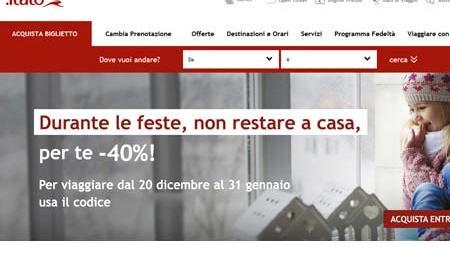 FESTE ITALO CODICE SCONTO