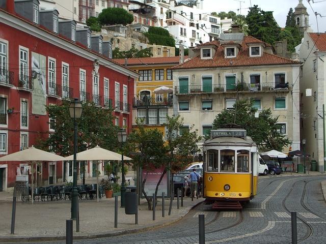 Lisbona quartiere Alfama