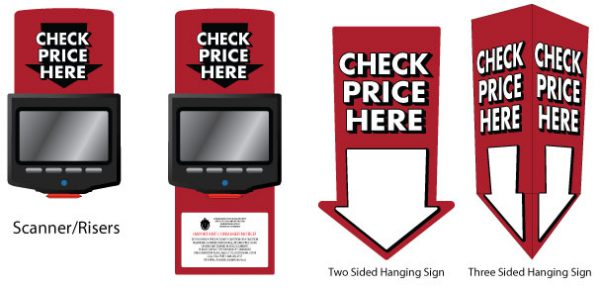 Opi Price Checker Solutions Include Custom Branded Signage To Let Customers Know Where Price Scanners Are Located And Promote Use
