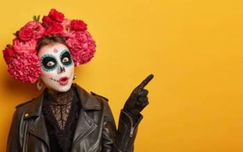 leather Halloween costume