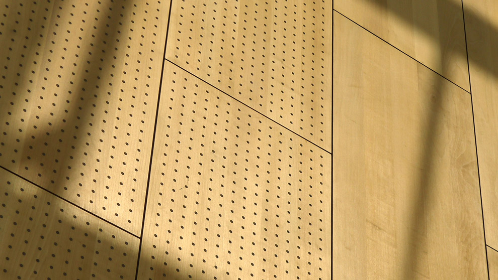 Perforated Grooved Acoustic Panels