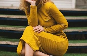 https://www.pexels.com/photo/women-s-yellow-long-sleeved-dress-1055691/