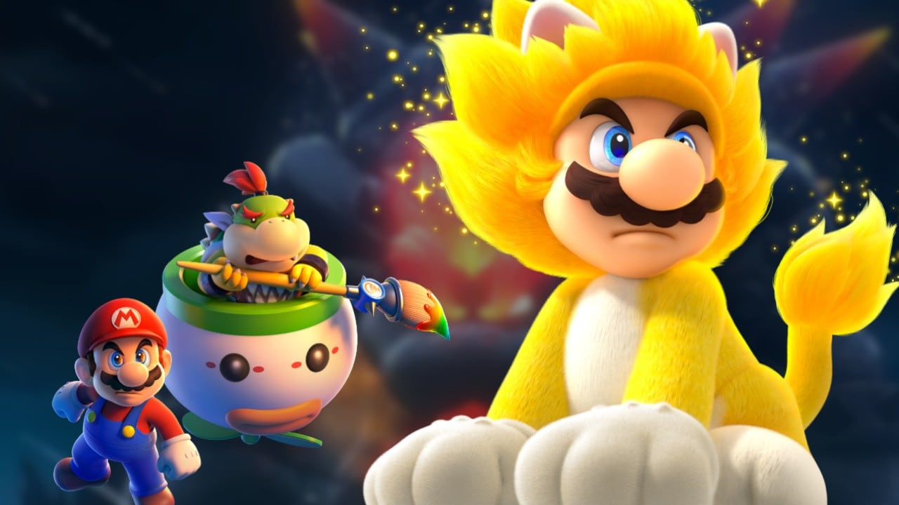 Super Mario Gives the Best-Selling Game From February - Optic Flux - Optic Flux