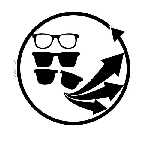 recyclage des lunettes